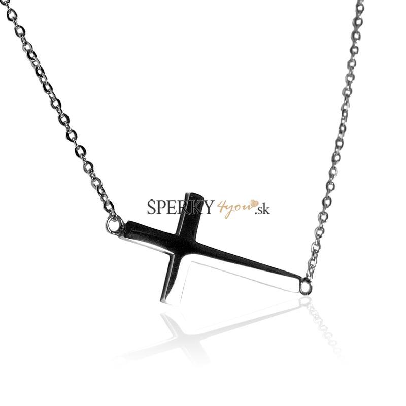 Dámsky retiazka krížik z chirurgickej ocele S225080  bc3382bdf9e