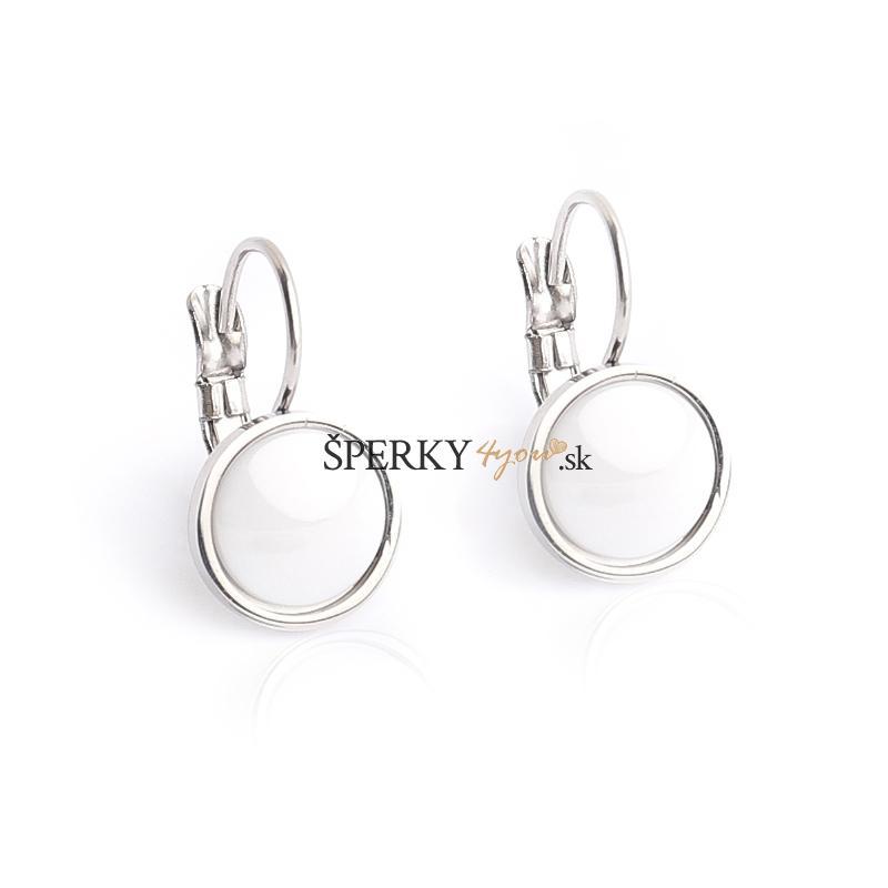 2531c78f4 Náušnice keramické kruhy 1,4 cm BLACK&WHITE S700120   Šperky4you.sk ...